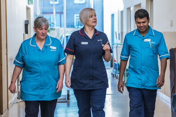 Image of neuro nurses
