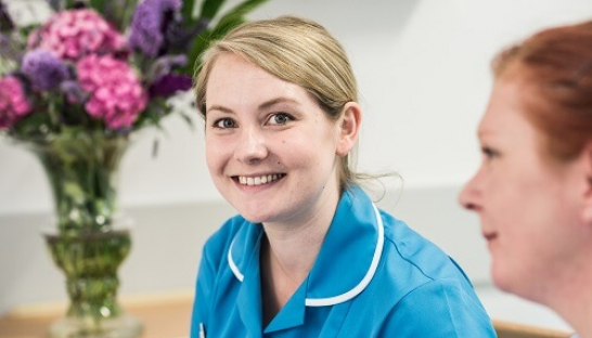 Image of a Sue Ryder nurse