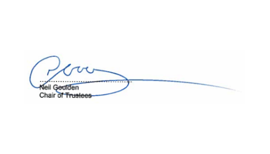 Image of Neil Goulden signature