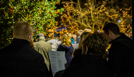 Wheatfields Lights of Love outdoor service