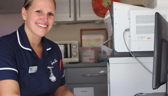 Image of Mari, a Sue Ryder nurse