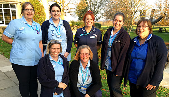 Image of Sue Ryder nurses at St John's Hospice
