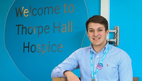 Sue Ryder Thorpe Hall Hospice Community Fundraising Officer Mitch Staff