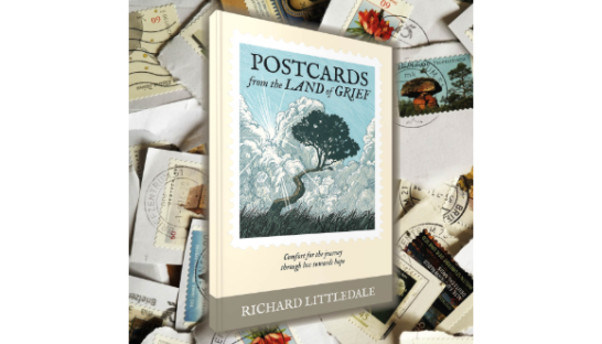 Cover of Postcards from the Land of Grief by Richard Littledale