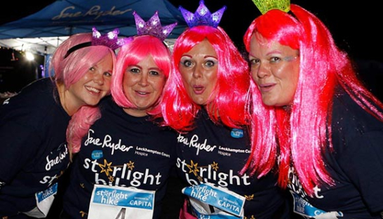 Image of the Hike for Mike Leckhampton Court Starlight Hike group