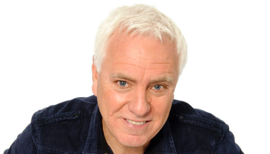 Comedian Dave Spikey, who has donated for the auction.