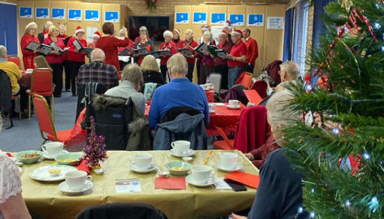 Carers' Thursday at St. Johns for Christmas and Carols