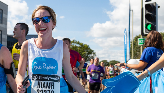 Sue Ryder London Marathon Runner
