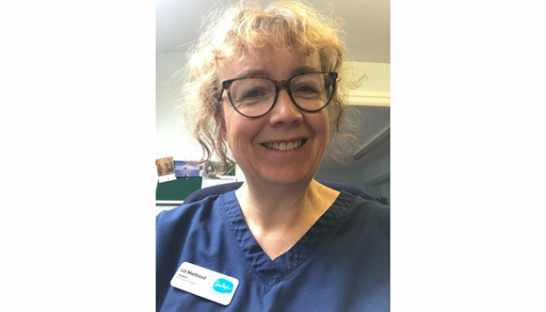 Liz Maitland, Chaplain at Sue Ryder Manorlands Hospice