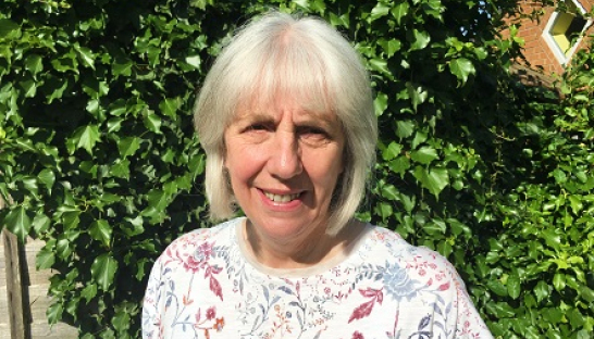 Judie Allen volunteered at Sue Ryder Thorpe Hall Hospice for 30 years