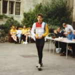 Alan Sutor when he was 14 at the original Ride for Ryder in 1988