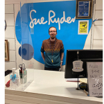 Photo of Dale in the Sue Ryder charity shop