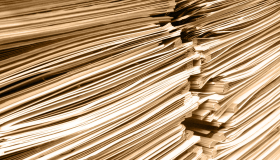 Image of a stack of papers