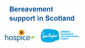 Bereavement support in Scotland - a report by Hospice UK and Sue Ryder