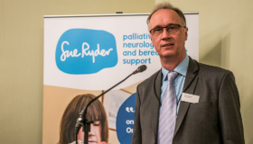 Photo of Richard Littledale at Sue Ryder's annual lecture 2019