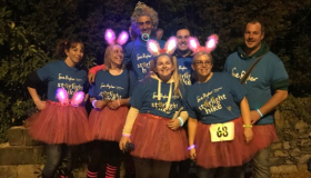 Wheatfields Starlight Hikers in fancy dress