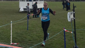 Thorpe Hall Hospice supporter Joy Atkin running