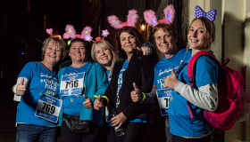 Manorlands Starlight Hike 2019 walkers