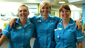 Sue Ryder Nurses at Thorpe Hall Hospice