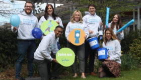 Sue Ryder Thorpe Hall fundraising team