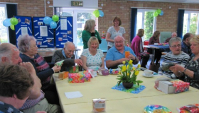 Carers at St John's attending the Carers' Thursday support group