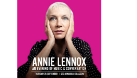 Annie Lennox: An Evening of Music and Conversation, Thursday 26th September, SEC Armadillo Glasgow