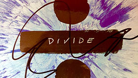 Image of signed Ed Sheeran Divide album