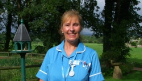 Sonia Maisey is a Senior Staff Nurse at Sue Ryder Leckhampton Court Hospice