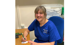 Jan Bell - Lymphoedema Therapist at Sue Ryder Duchess of Kent Hospice