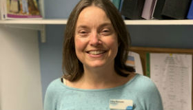 Lucy Sansom, Palliative Care Social Worker
