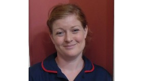 Clare Cole, Therapies and Rehabilitation Service Lead at The Chantry
