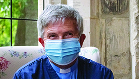 Sue Ryder Leckhampton Court Hospice Chaplain, Rob Pestell shares how the coronavirus pandemic has impacted the hospice, and how it has changed his role